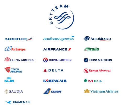 ポイントで無料旅行! skyteam2 スカイチーム加盟の日本の航空会社はない!運賃重視なら選ぶ価値あり! アライアンス