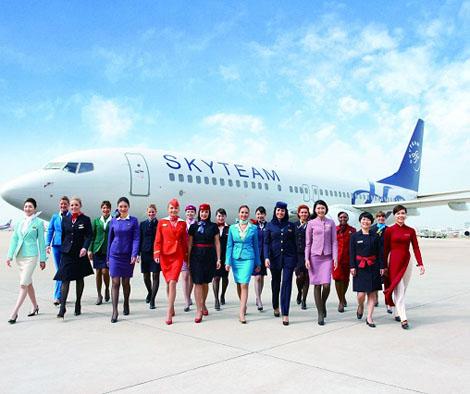 ポイントで無料旅行! skyteam3 スカイチーム加盟の日本の航空会社はない!運賃重視なら選ぶ価値あり! アライアンス