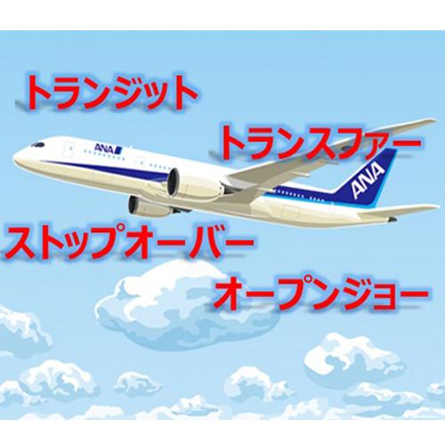 ポイントで無料旅行! 違い2 飛行機の経由の時間違いやすい、トランジットとトランスファーの違いは?ストップオーバーやオープンジョーの違いも説明! トランジット