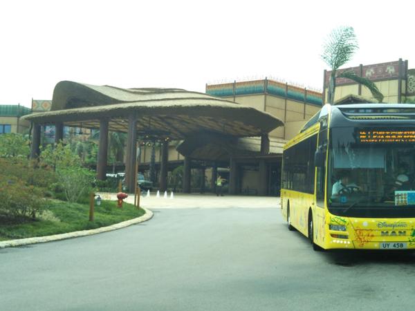 ポイントで無料旅行! エクスプローラーズロッジ外観 香港の旅行記|香港ディズニーエクスプローラーズ ロッジに宿泊! 香港旅行