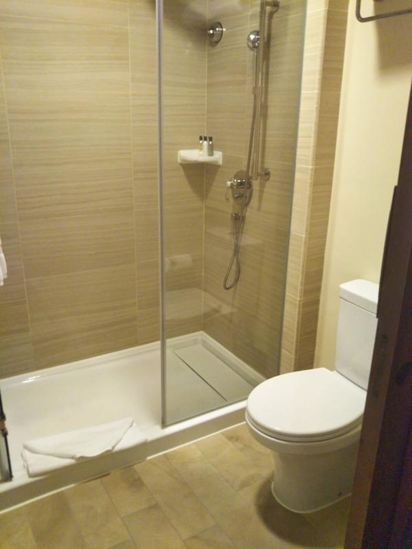 ポイントで無料旅行! シャワー-1 香港の旅行記|香港ディズニーエクスプローラーズ ロッジに宿泊! 香港旅行