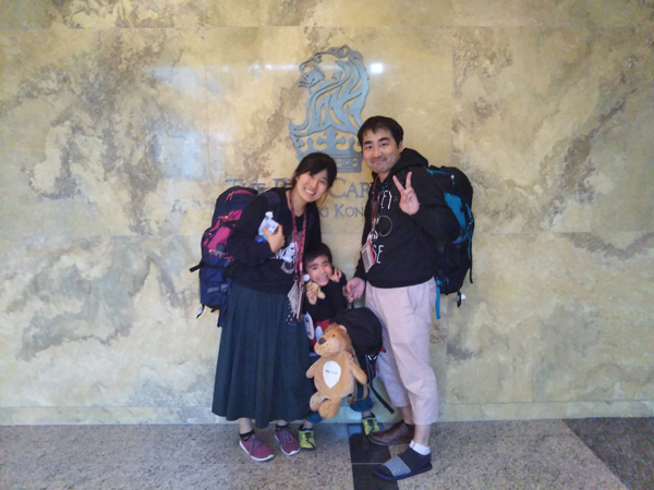 ポイントで無料旅行! リッツで記念写真2 香港の旅行記|リッツカールトン香港にSPGアメックスで無料宿泊! 香港旅行
