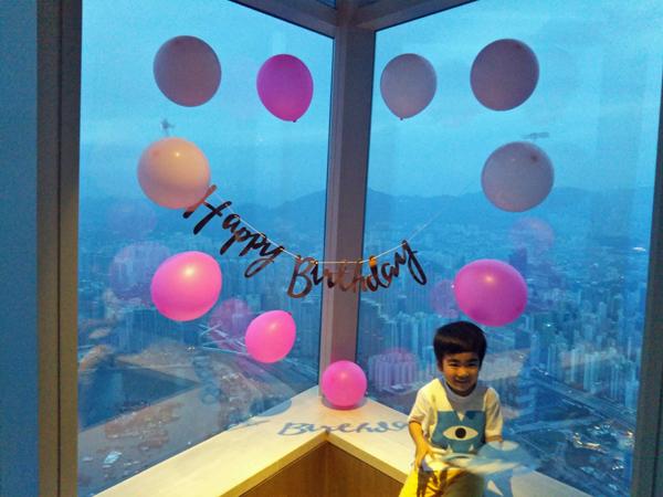 ポイントで無料旅行! 誕生日装飾2-1 香港の旅行記|リッツカールトン香港にSPGアメックスで無料宿泊! 香港旅行