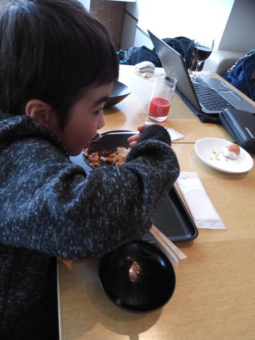 ポイントで無料旅行! カレーを食べる少年 JALのサクララウンジ【成田空港】に行きました!感無量!|7つの利用条件! JALについて