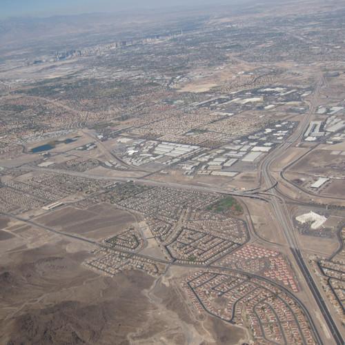ポイントで無料旅行! ラスベガスの航空写真 ラスベガス旅行記|観光するポイントは3つ!カジノ、ホテル、ショー! ラスベガス旅行