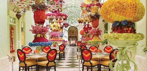 ポイントで無料旅行! 451_The_Buffet_Atrium_Barbara_Kraft 食べること好きな方 必見!逃してはいけないブッフェ ベスト4 ラスベガス旅行