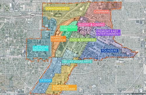 ポイントで無料旅行! Downtown-Las-Vegas-Master-Plan ラスベガスで便利なエリアで絶対泊まりたいホテルを選ぼう! ラスベガス旅行の詳細