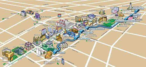 ポイントで無料旅行! monorail-map ラスベガスで便利なエリアで絶対泊まりたいホテルを選ぼう! ラスベガス旅行の詳細